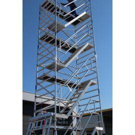 Trappentoren ASC 135x250x2.2 platformhoogte